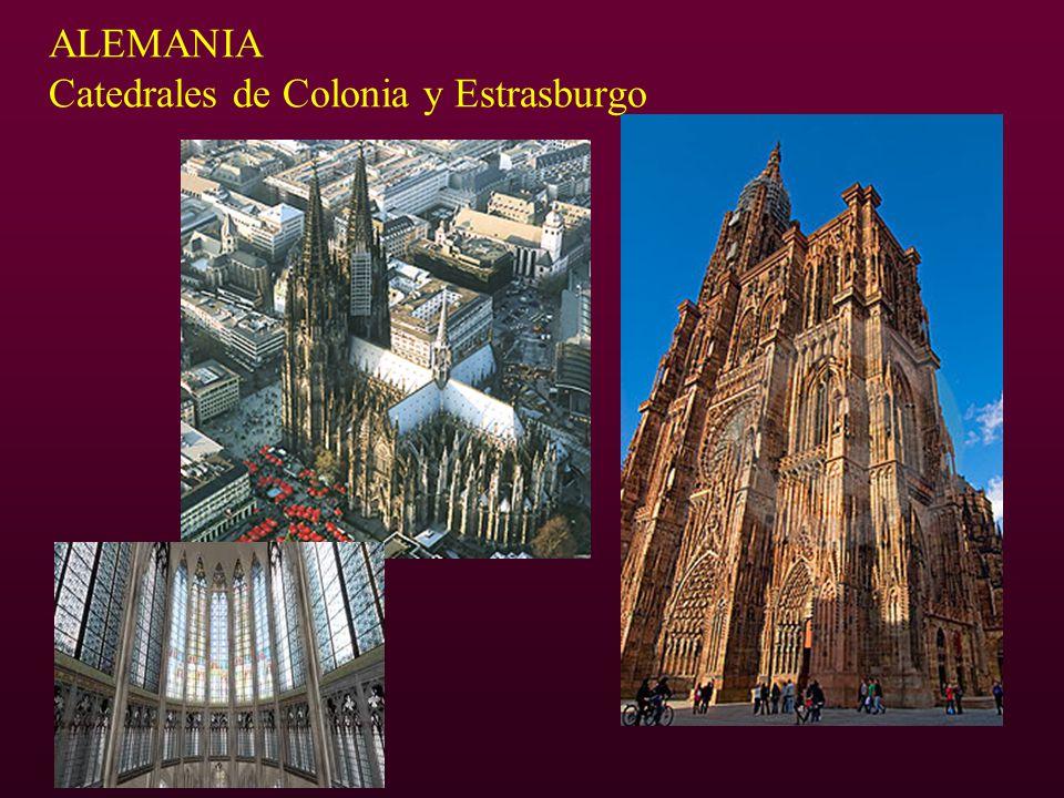 ALEMANIA Catedrales de Colonia y Estrasburgo