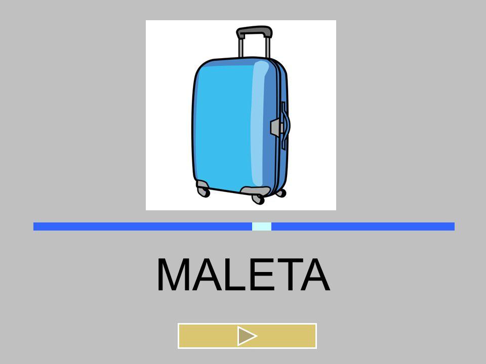 MALETA PALETA MALETA PELOTA MELENA