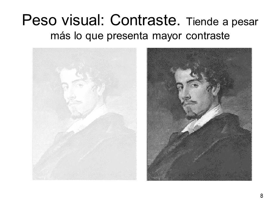 19 Peso visual: situación en el campo gráfico Muerte y Vida, por Klimt