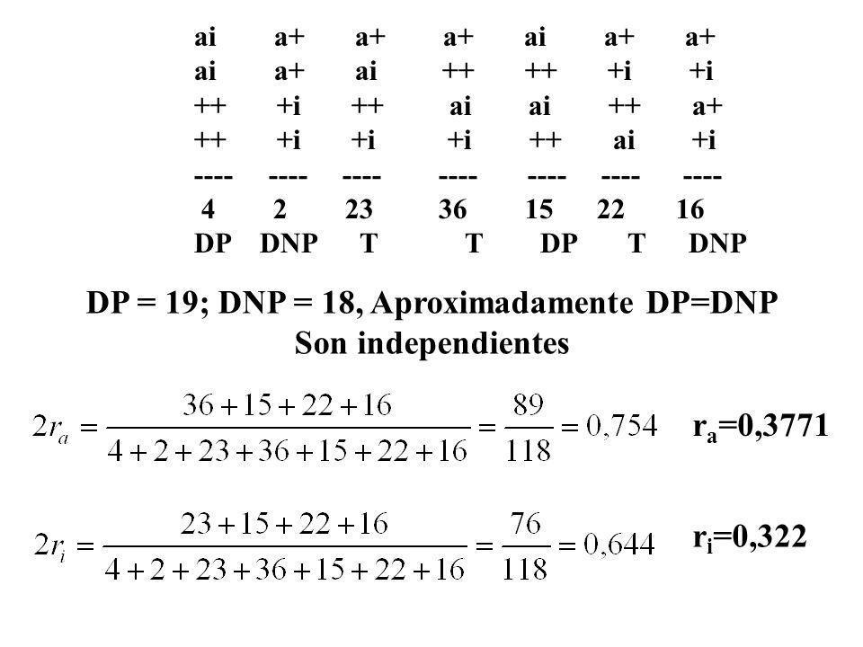 ai a+ a+ a+ ai a+ a+ ai a+ ai ++ ++ +i +i ++ +i ++ ai ai ++ a+ ++ +i +i +i ++ ai +i ---- ---- ---- ---- ---- ---- ---- 4 2 23 36 15 22 16 DP DNP T T D
