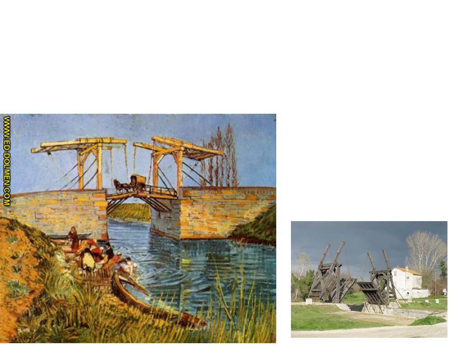 3 Uso de cálidos en primer término para reforzar sensación de espacio El puente de Arles por Van Gogh (observar qué diferencia de color hay entre la i