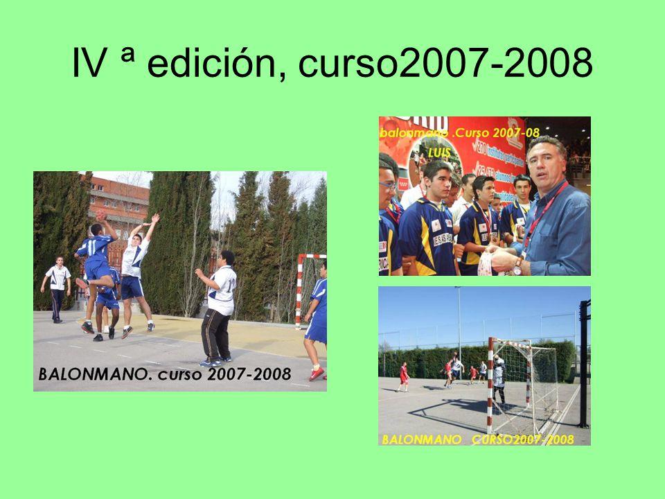 V ª edición. Curso2008-2009