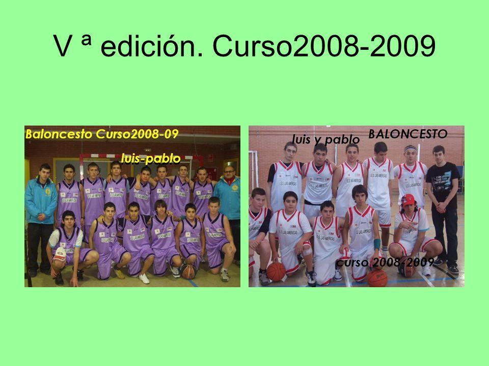 VI ªedición.curso2009-2010