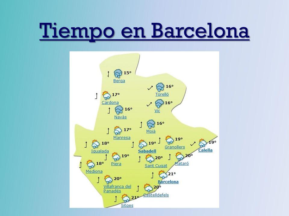Tiempo en Barcelona