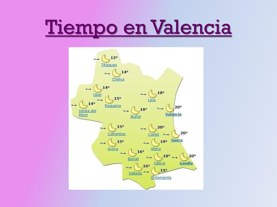 Tiempo en Valencia