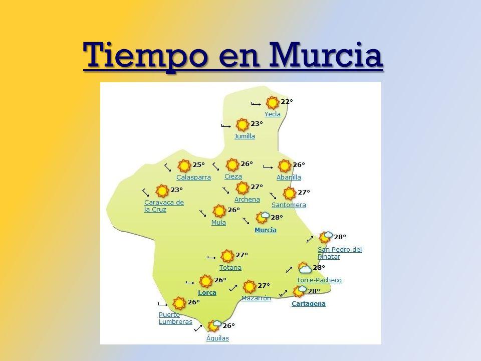 Tiempo en Murcia