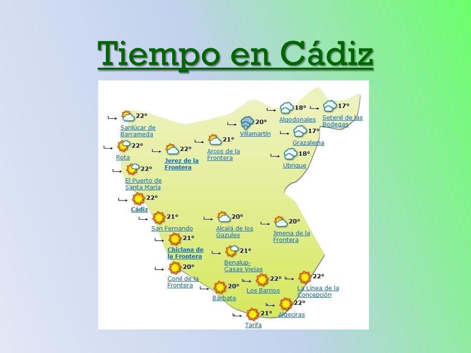 Tiempo en Cádiz