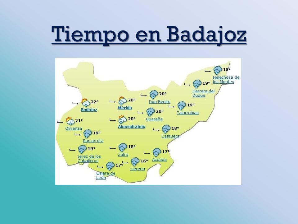 Tiempo en Badajoz
