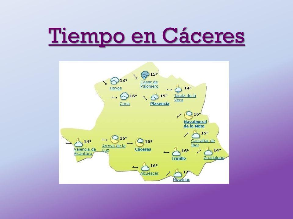 Tiempo en Cáceres