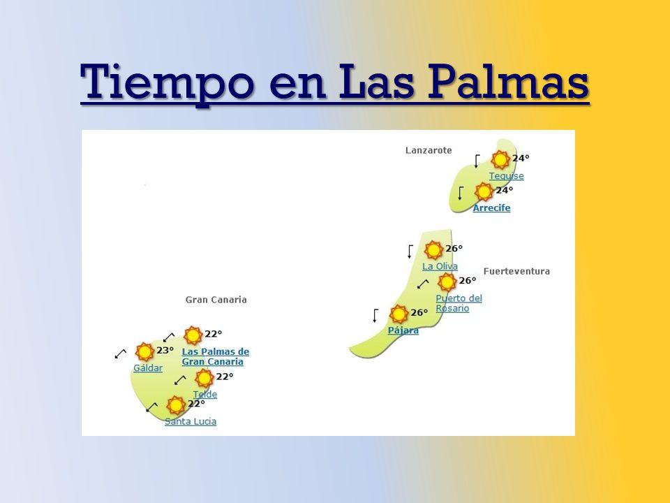 Tiempo en Las Palmas