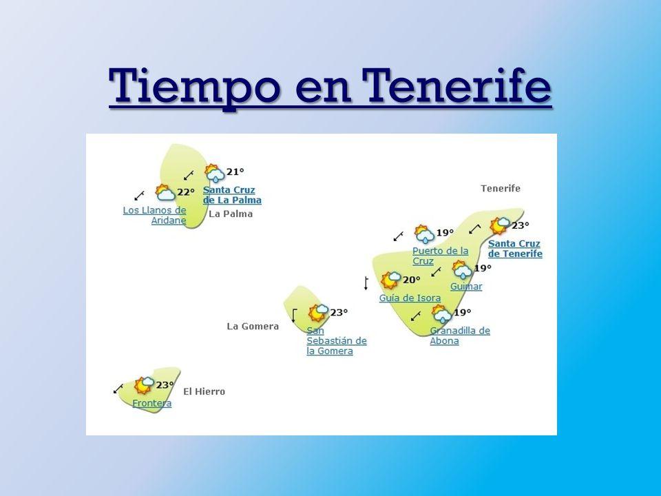 Tiempo en Tenerife