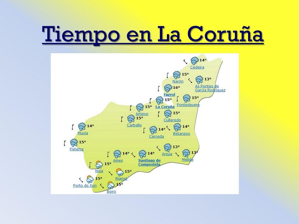 Tiempo en La Coruña