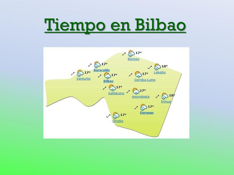 Tiempo en Bilbao