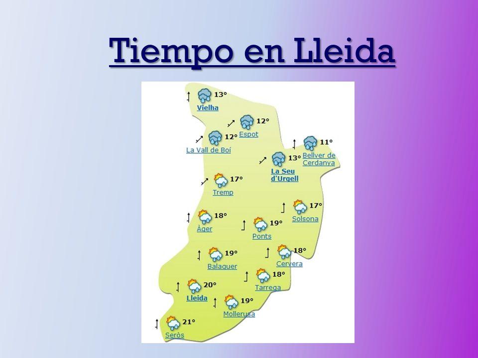 Tiempo en Lleida