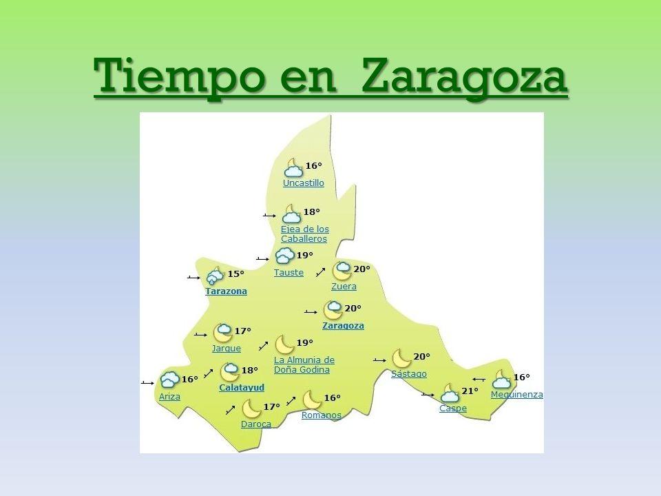 Tiempo en Zaragoza