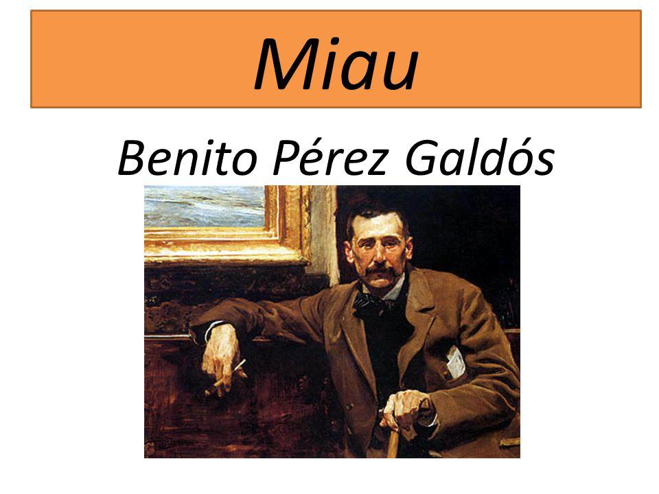 Miau Benito Pérez Galdós