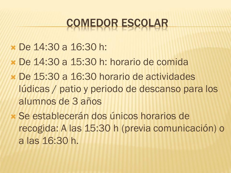 Las rutas tendrían el siguiente horario: Llegada a las 9:30 h y salida a las 14:30 h.