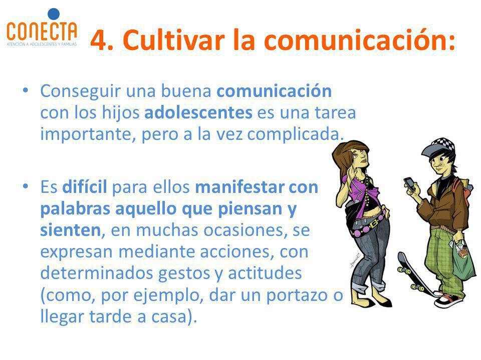 Conseguir una buena comunicación con los hijos adolescentes es una tarea importante, pero a la vez complicada. Es difícil para ellos manifestar con pa