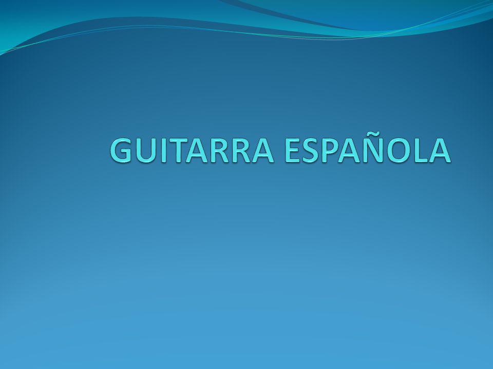 La guitarra es un instrumento musical de cuerda pulsada.