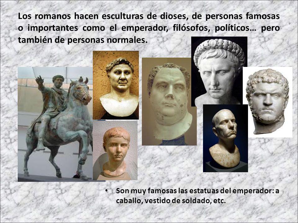 Los romanos quemaban los cuerpos de las personas muertas, como los griegos.