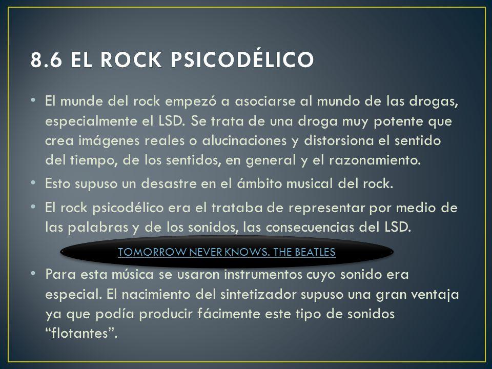 En 1965 las letras eran ya sociales y personales a la vez. Pero más tarde se dedicó más al rock, tocando con una banda de rock aunque no perdió su est