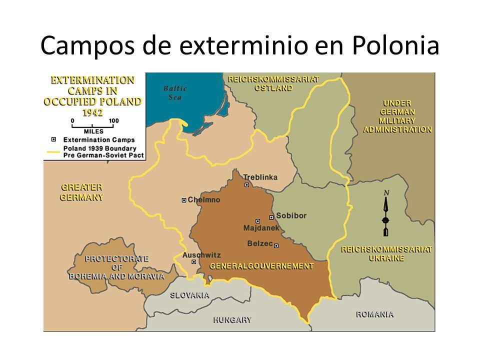 Campos nazis en la Polonia ocupada, 1939-1945