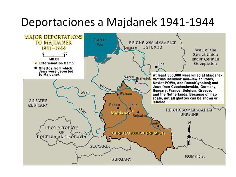 Deportaciones a Sobibor 1942-1943