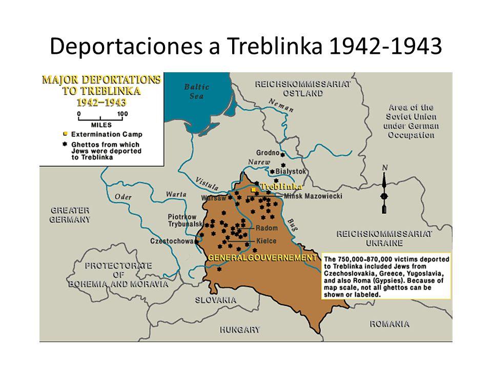 Deportaciones a Treblinka 1942-1943