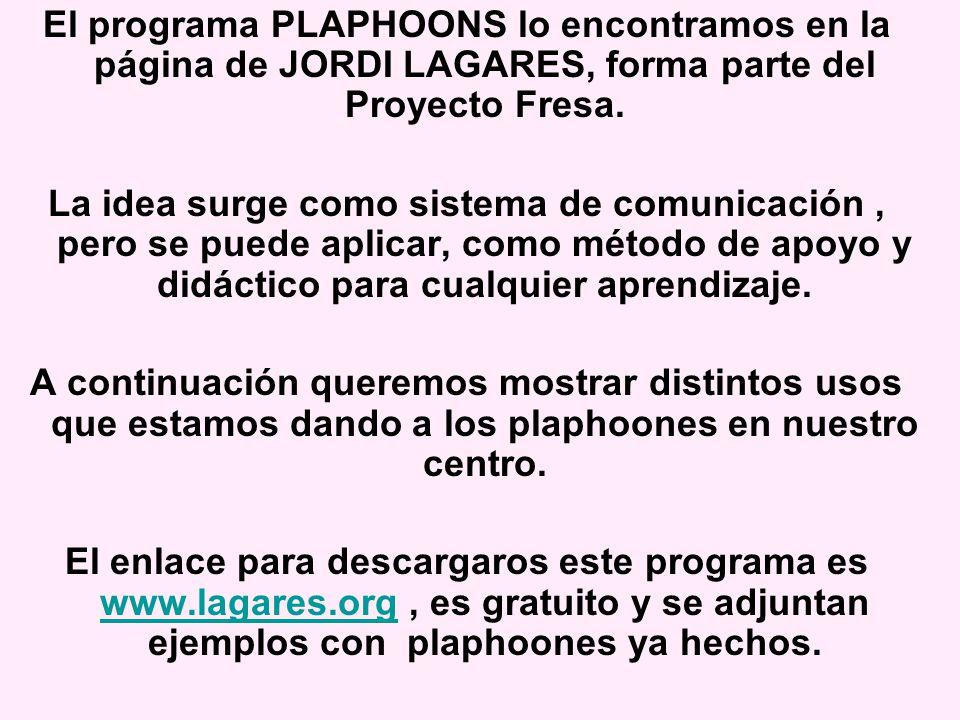 USOS Y UTILIDADES DE PLAPHOONES EN EL AULA