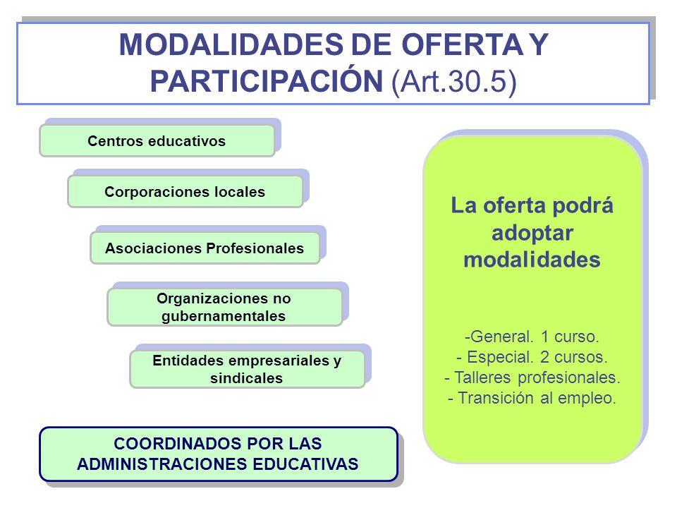 Esta modalidad está dirigida exclusivamente a aquellos alumnos cuyas necesidades educativas especiales están asociadas a condiciones personales de discapacidad psíquica, motora o sensorial.