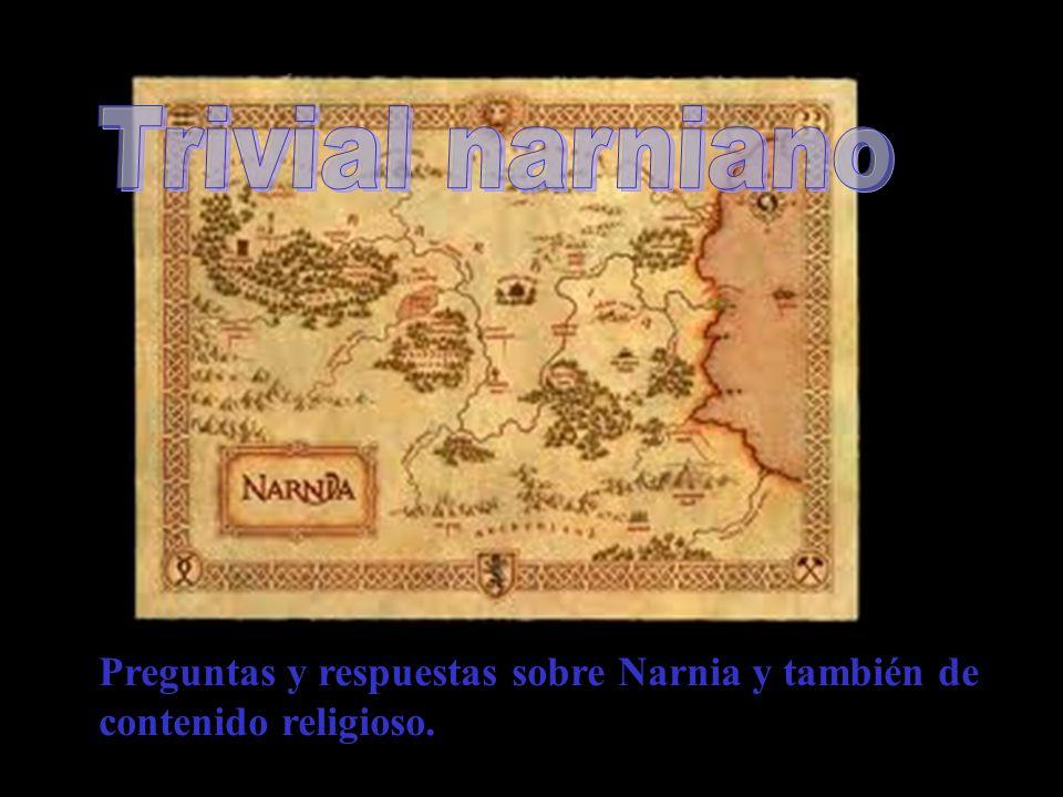 Representará mediante mimo personajes de Narnia o de la Biblia. Ganará el equipo que averigüe qué personaje o historia está contando. Cada equipo sólo