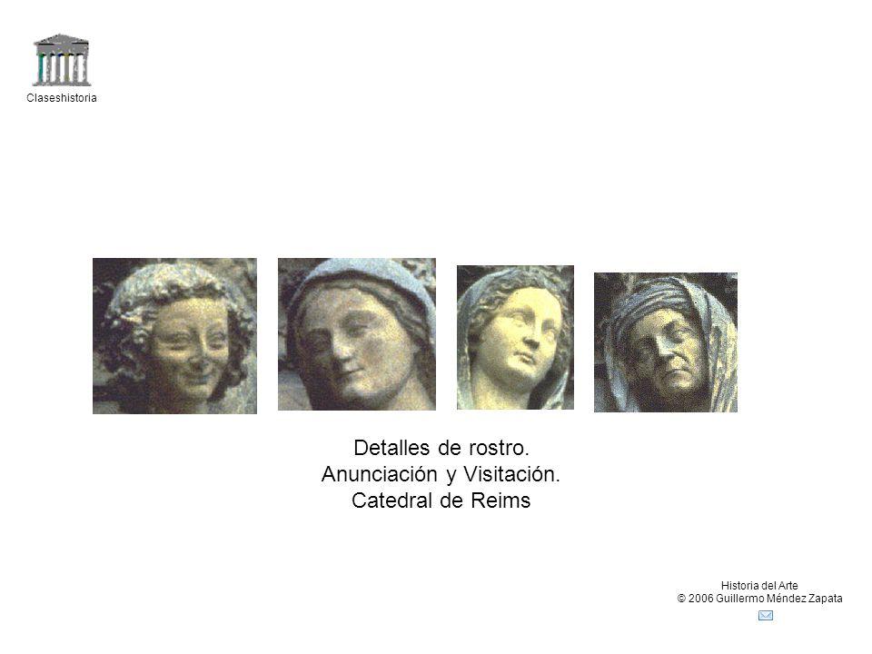 Claseshistoria Historia del Arte © 2006 Guillermo Méndez Zapata Detalles de rostro.