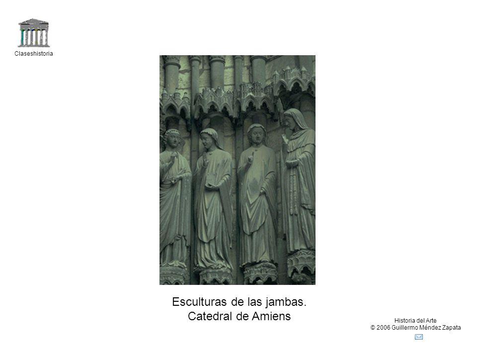 Claseshistoria Historia del Arte © 2006 Guillermo Méndez Zapata Esculturas de las jambas.