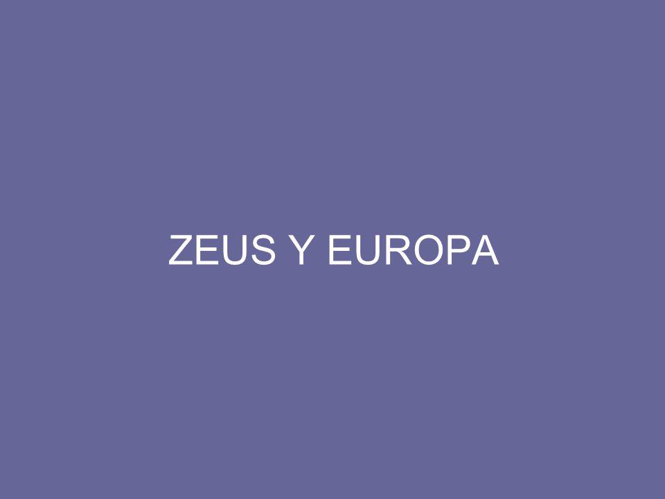 ZEUS Y EUROPA