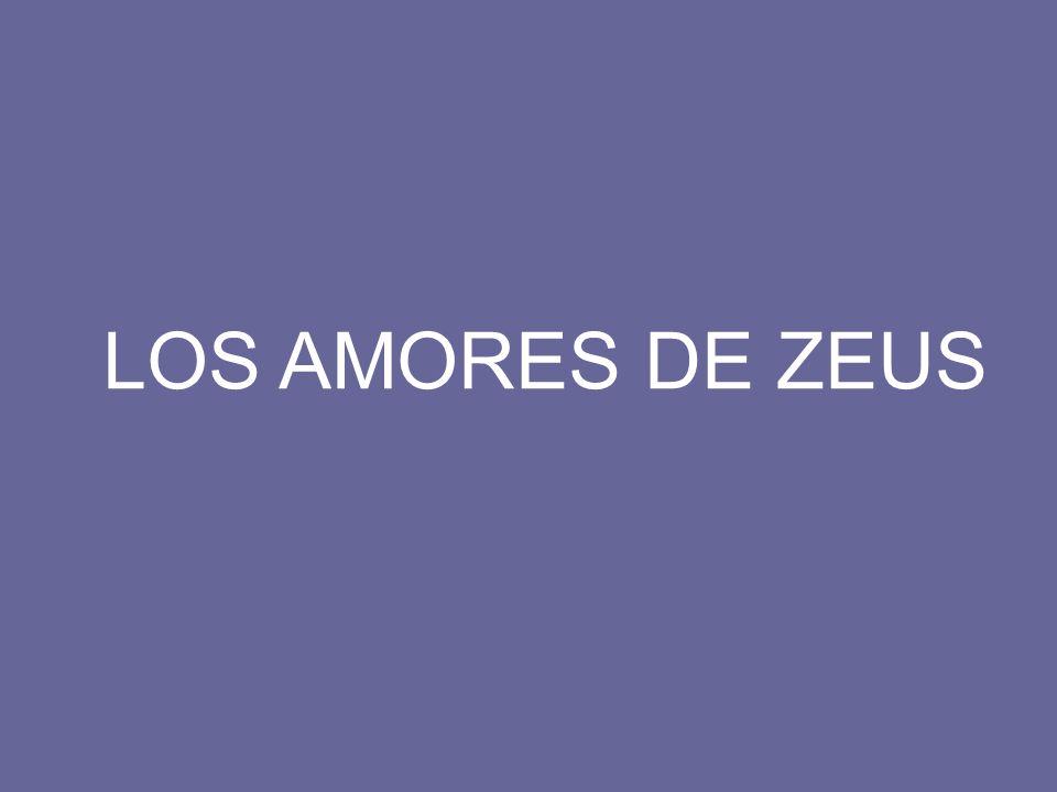 LOS AMORES DE ZEUS