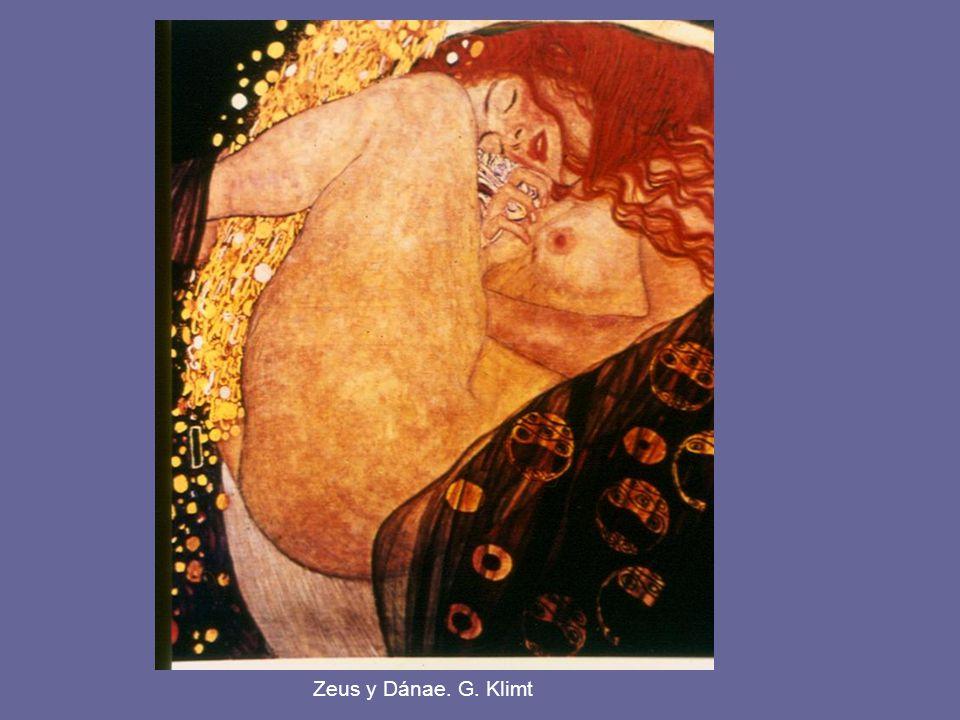 Zeus y Dánae. G. Klimt