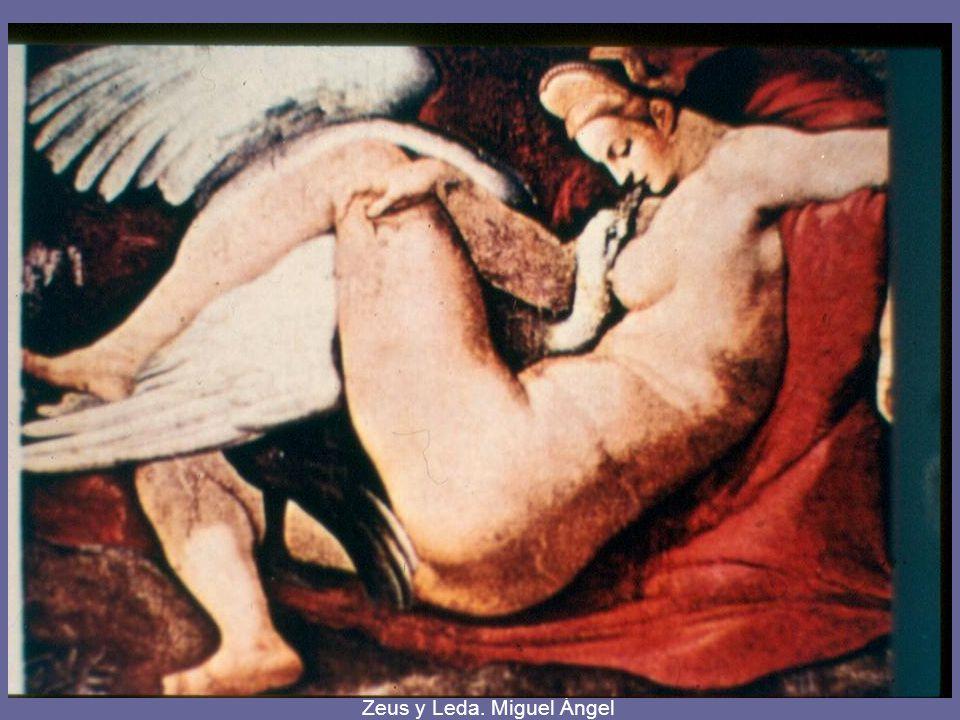 Zeus y Leda. Tintoretto