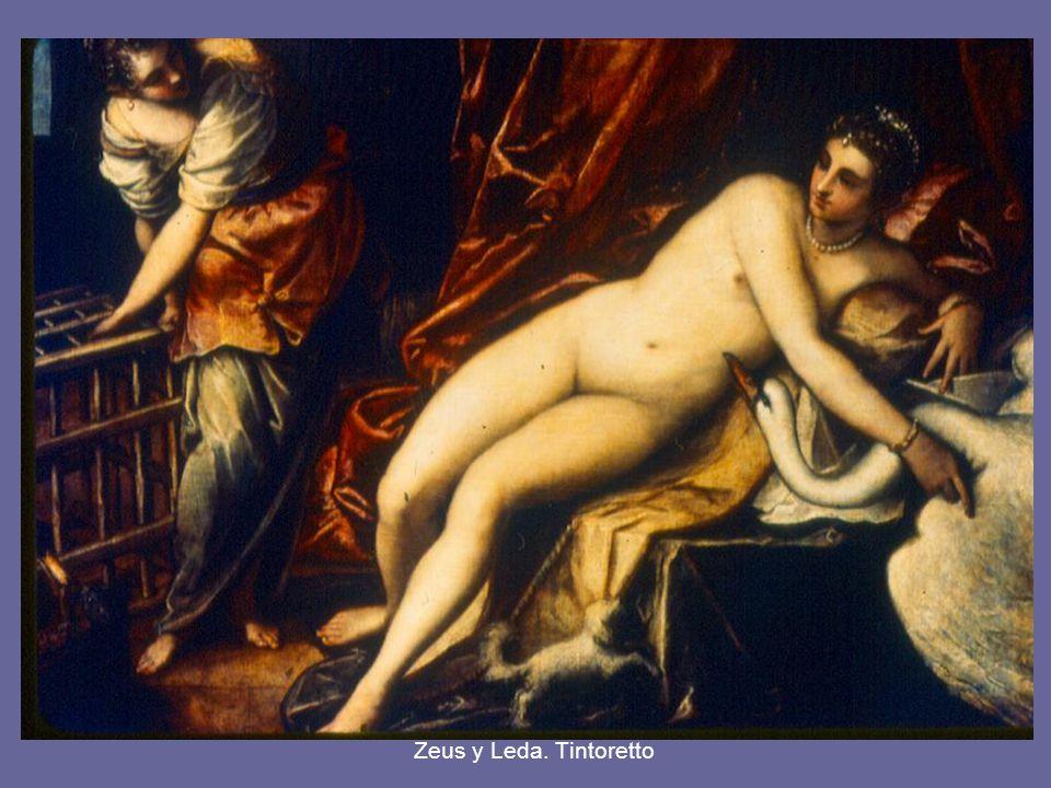 Zeus y Leda.