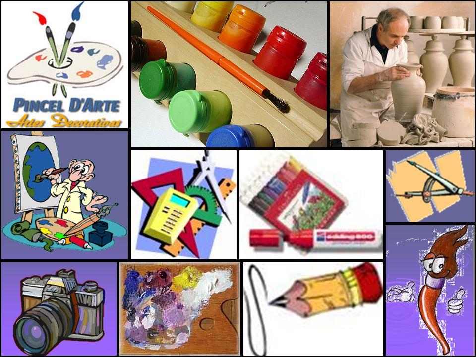 MATERIALES Soporte: Soporte: - Folios - Lienzo -… Material de pintura: Material de pintura: - Acuarelas - Ceras - Óleo -…