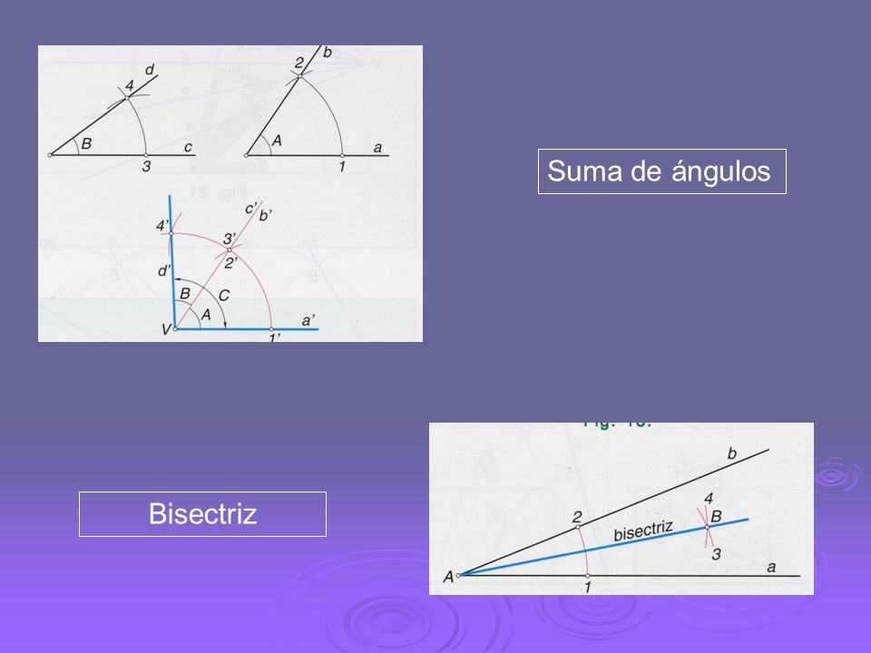 Construcción de formas poligonales Construcción de un triángulo equilátero dado el lado