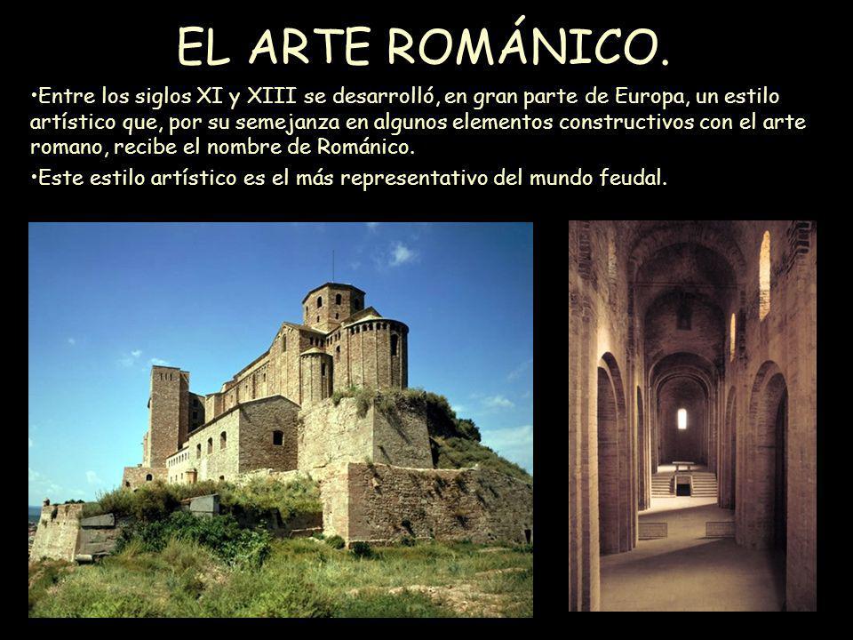 Mª Victoria Landa EL ARTE ROMÁNICO. Entre los siglos XI y XIII se desarrolló, en gran parte de Europa, un estilo artístico que, por su semejanza en al