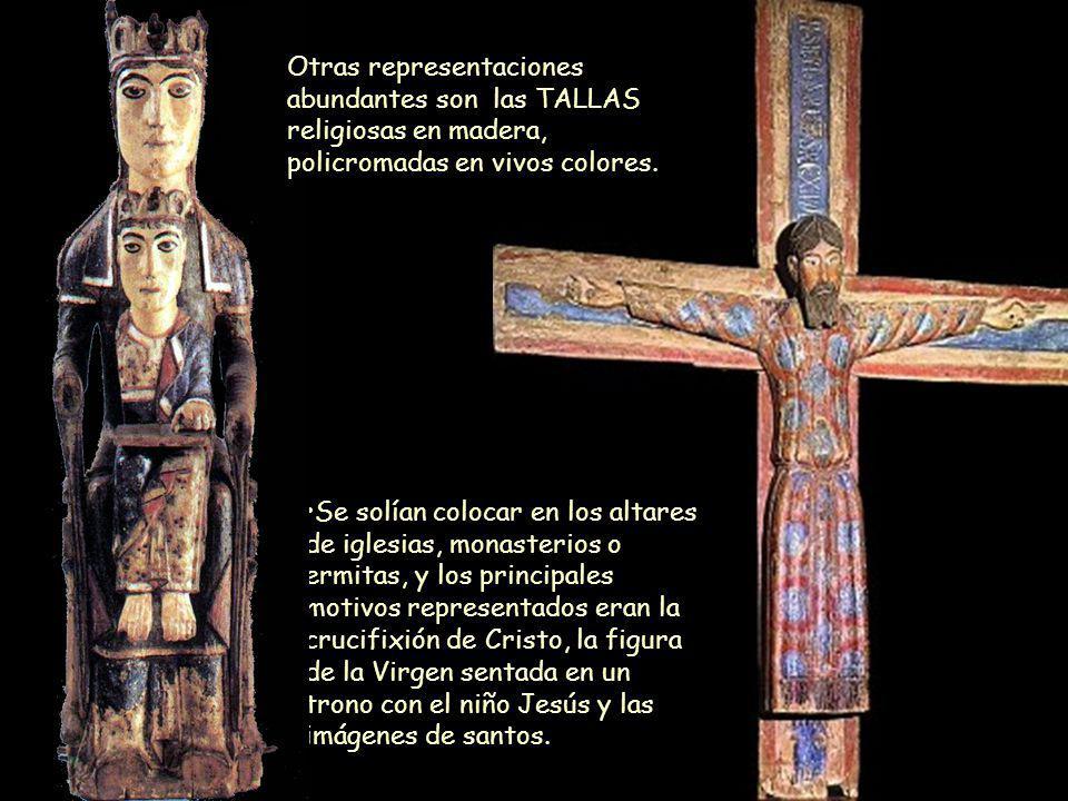 Mª Victoria Landa Se solían colocar en los altares de iglesias, monasterios o ermitas, y los principales motivos representados eran la crucifixión de