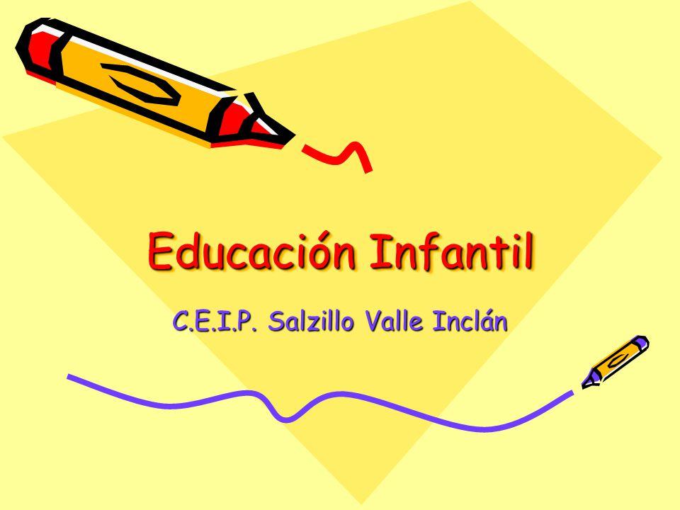 Educación Infantil C.E.I.P. Salzillo Valle Inclán