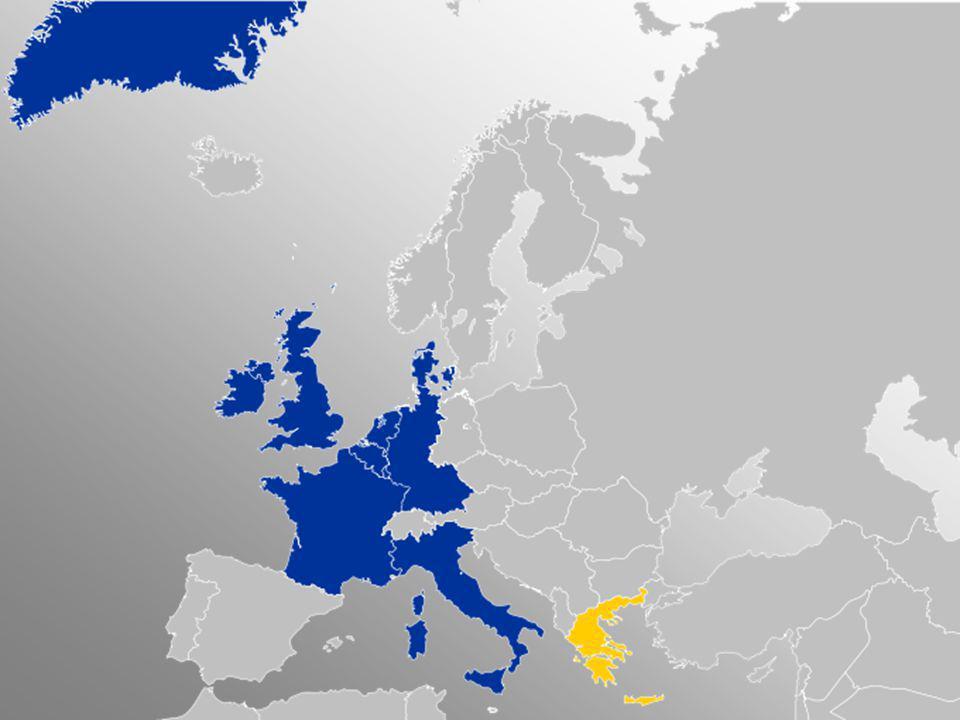 Segunda Ampliación: Grecia 1981 1985 se retiró Groenlandia como consecuencia del referéndum de 1982