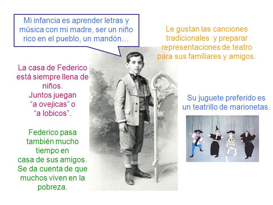 En 1909 su familia se traslada a Granada.