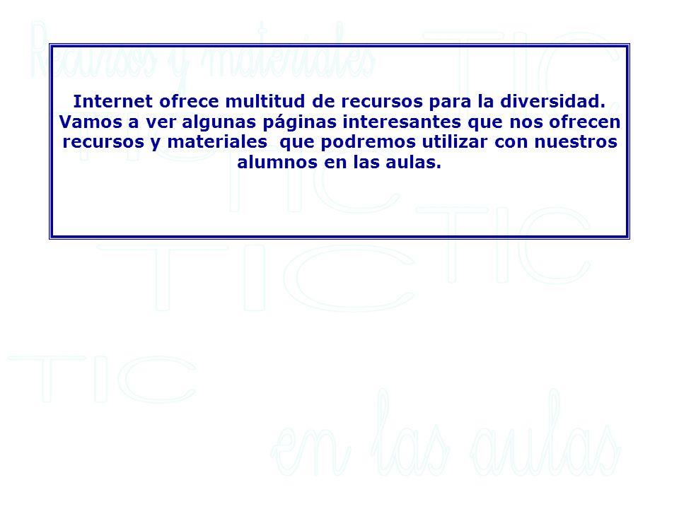 PAGINAS INSTITUCIONALES: La página del CNICE (Centro Nacional de Información y Comunicación Educativa).