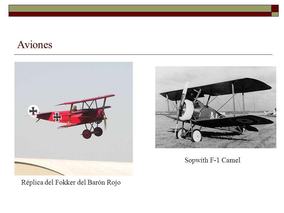 Aviones Réplica del Fokker del Barón Rojo Sopwith F-1 Camel