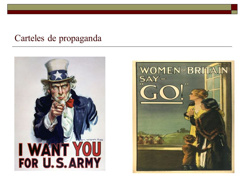 Carteles de propaganda