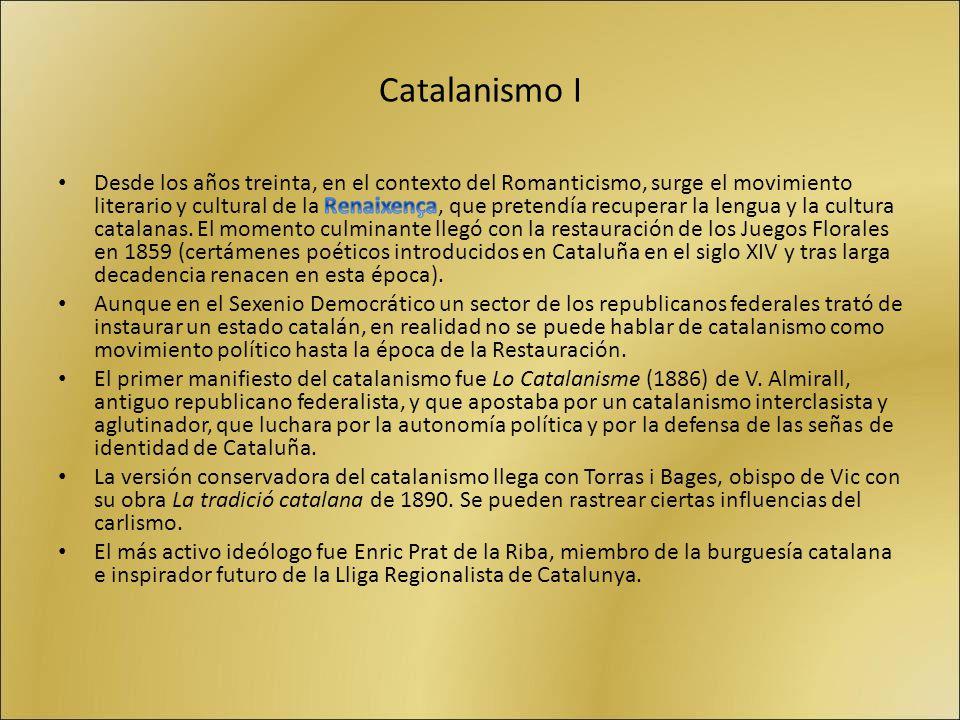 Catalanismo I