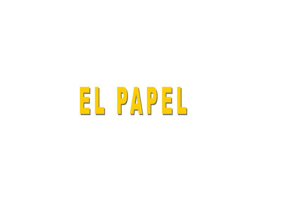 Procesos de fabricación TAMIZADO la pasta de papel se pone sobre una malla metálica donde se escurre el agua y se compactan las fibras.